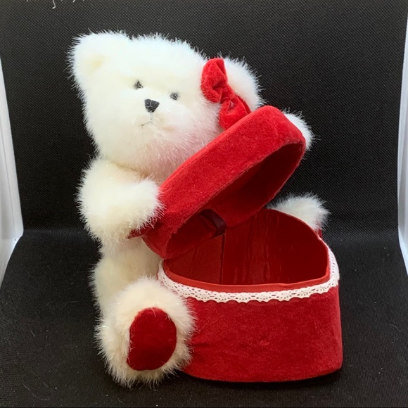 "RARE - Boyds Bears ""Trina"" Valentine Bear"